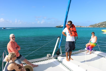 Catamaran sailing tour in Anguilla