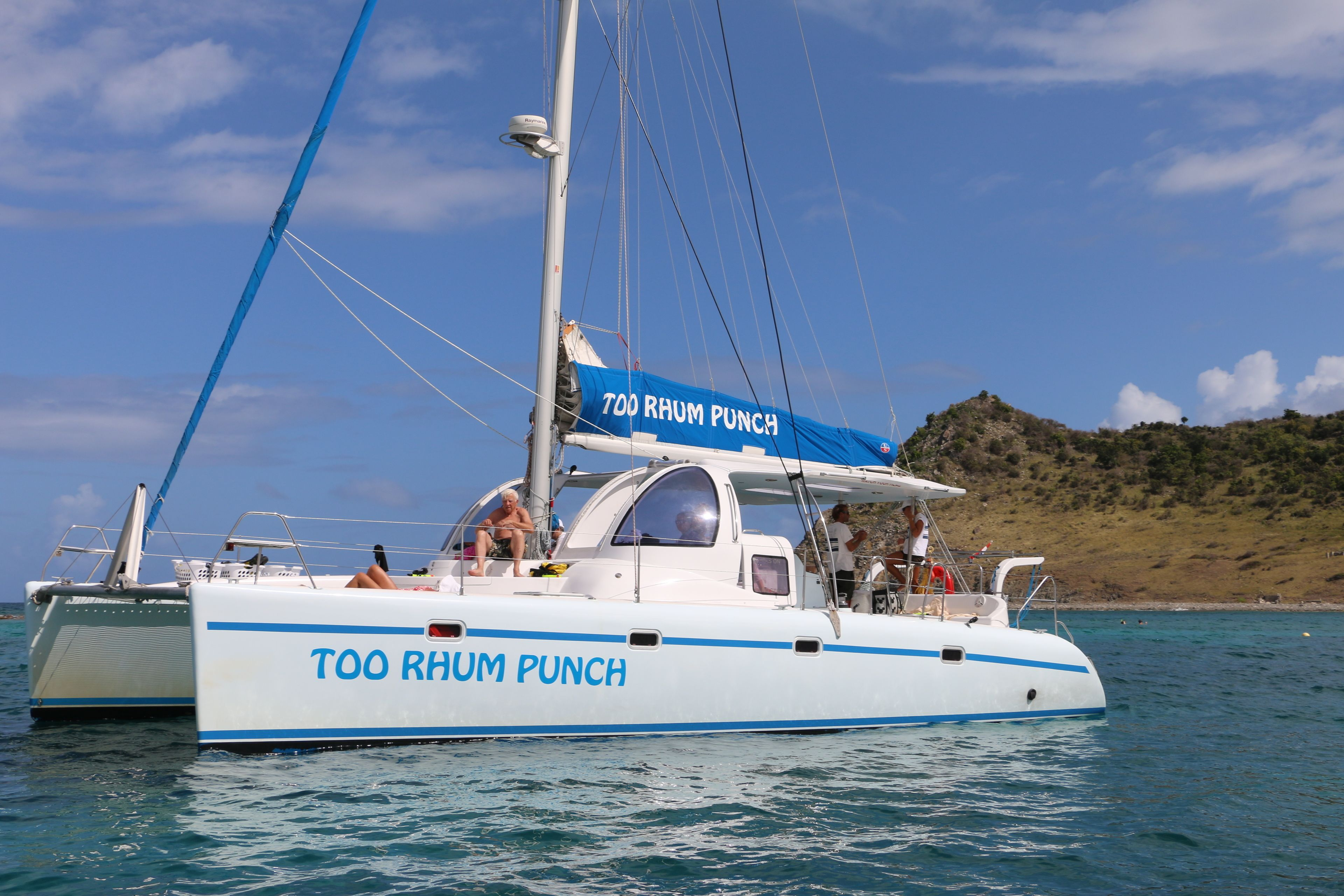 Tropical Catamaran Snorkelling, Sailing and Beach Tour
