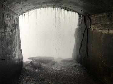 Tunnel behind Niagara Falls