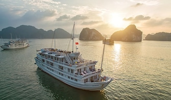 2 Days Cruising on Halong Bay Aboard Paradise Luxury Cruise