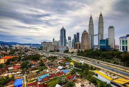 Panoramic day view of Kuala Lumpur