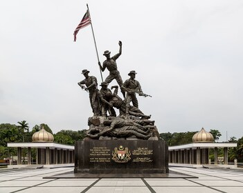 National Monument in Kuala Lumpur, Malaysia
