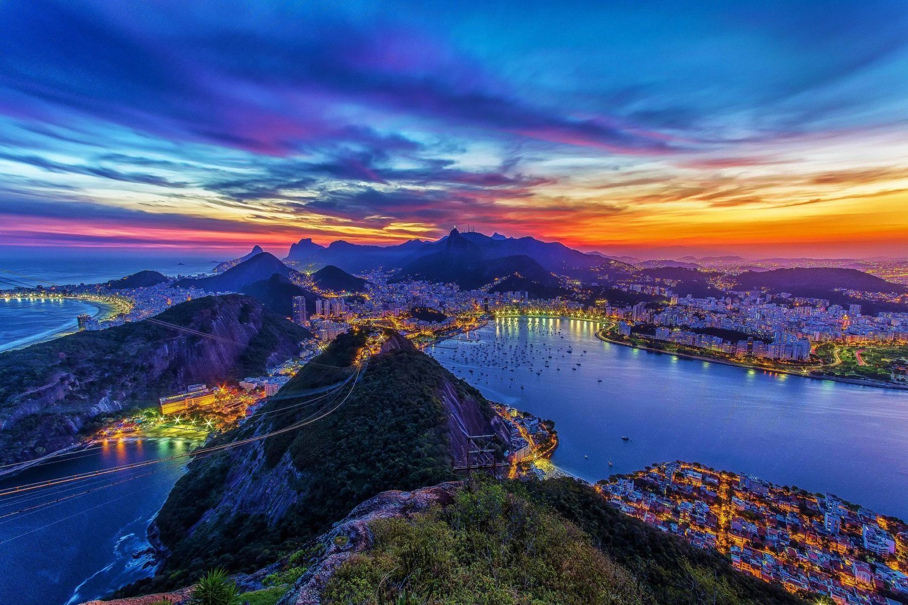 Sunset Experience - Christ the redeemer, Sugarloaf & Old Rio