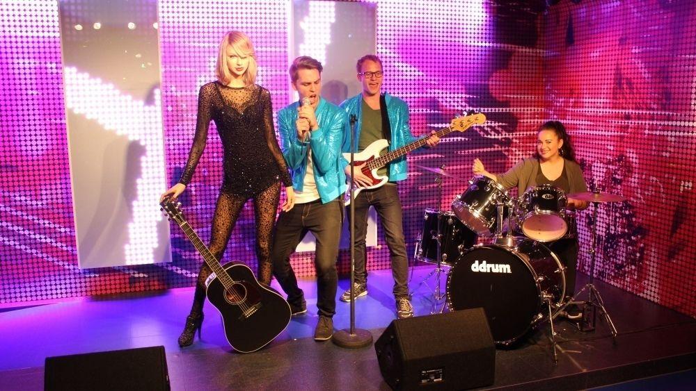 Taylor Swift exhibit at Madam Toussauds Berlin