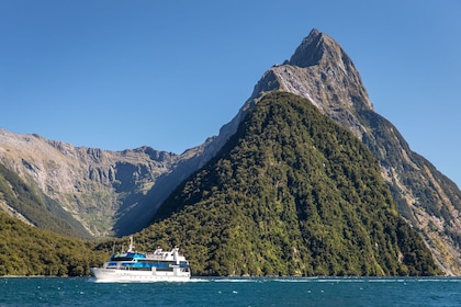 Cruise boat on the Milford Sound
