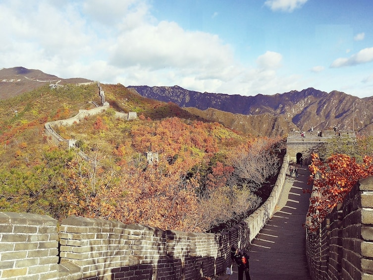 Show item 5 of 10. Mini Group Tour: The Mutianyu Great Wall and Summer Palace