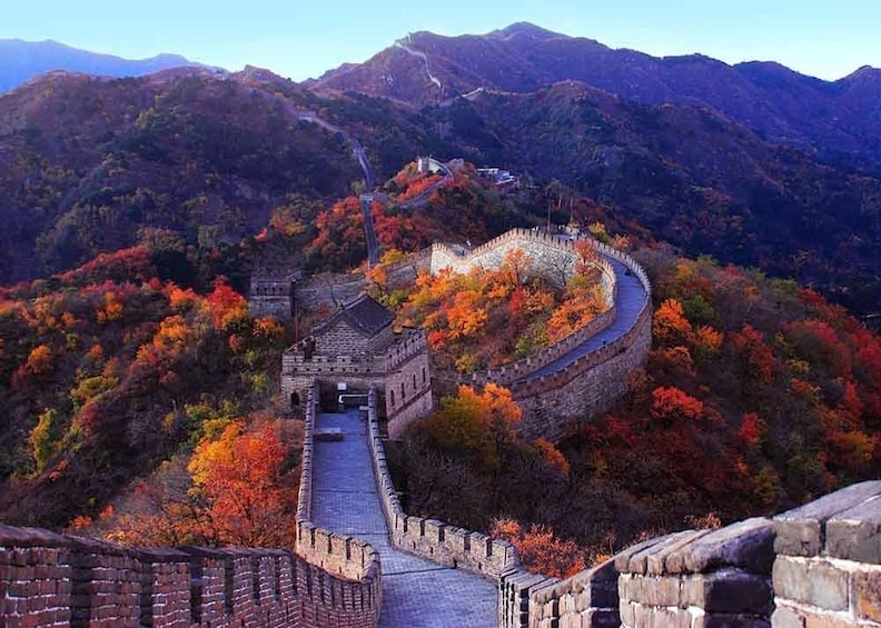 Show item 1 of 10. Mini Group Tour: The Mutianyu Great Wall and Summer Palace