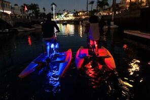 Hydrobike Glow Ride in Alamitos Bay