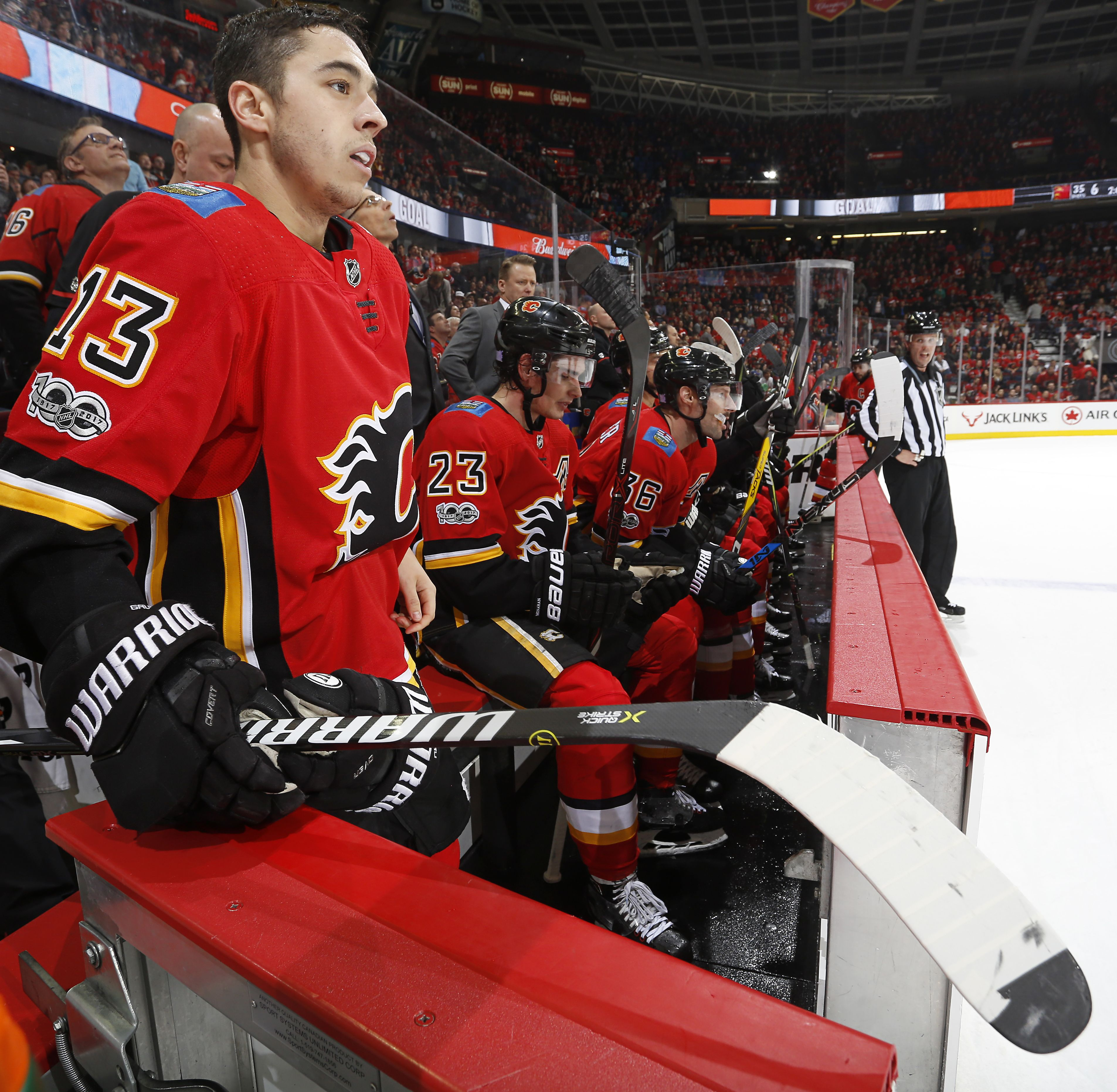 Calgary Flames Hockey Tour from Banff