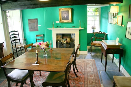 Interior of Dove Cottage