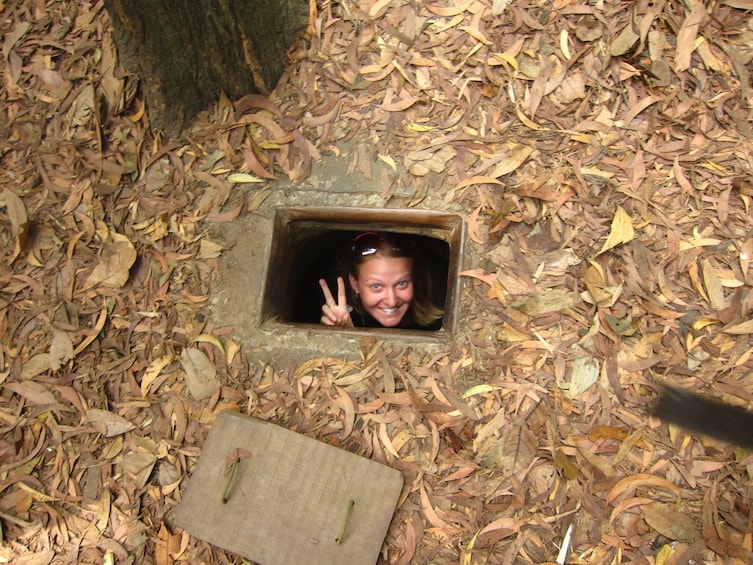 Show item 3 of 10. Củ Chi tunnels