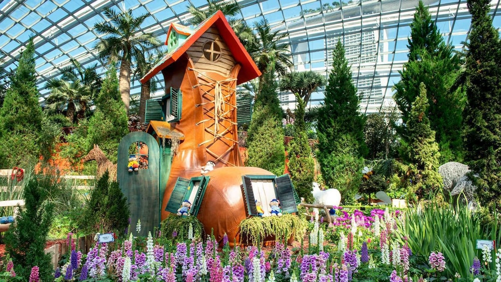 Show item 10 of 10. Gardens by the Bay + OCBC Skyway
