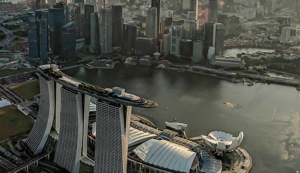 Show item 4 of 8. Sands SkyPark Observation Deck in Singapore
