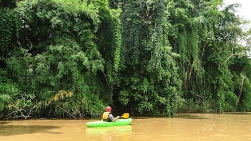 Kayaker in Chiang Mai
