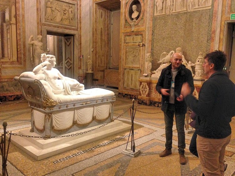 Show item 5 of 10. Borghese Gallery Small Group Tour