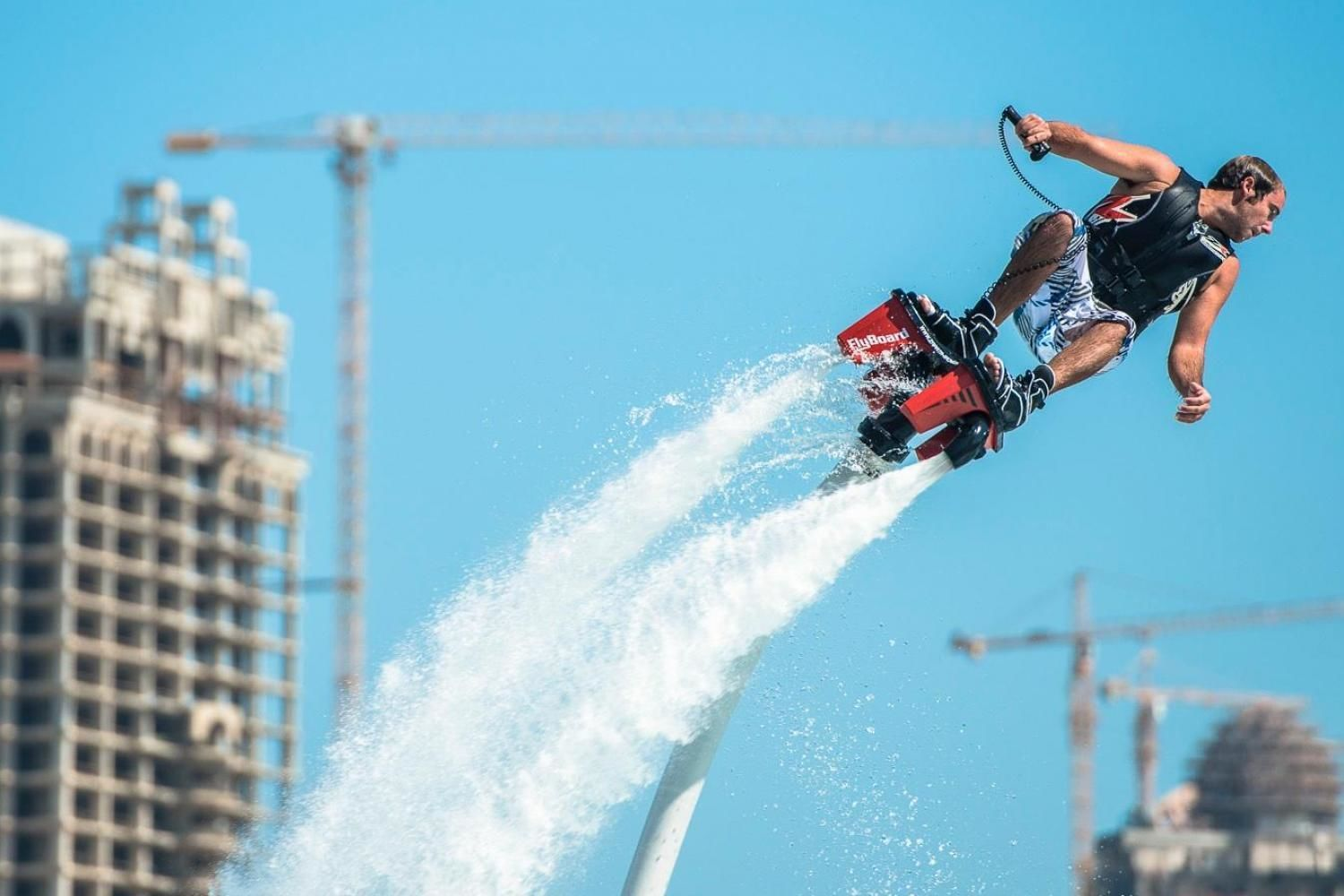 Flyboard Beginner Experience with Miami Watersports