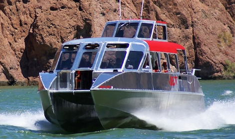 Jet boat on the Colorado River