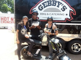 Austin Food Truck & City Tour on Electric Minibikes