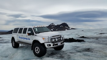 Private Monster truck Golden Circle & Langjökull up to 10pax