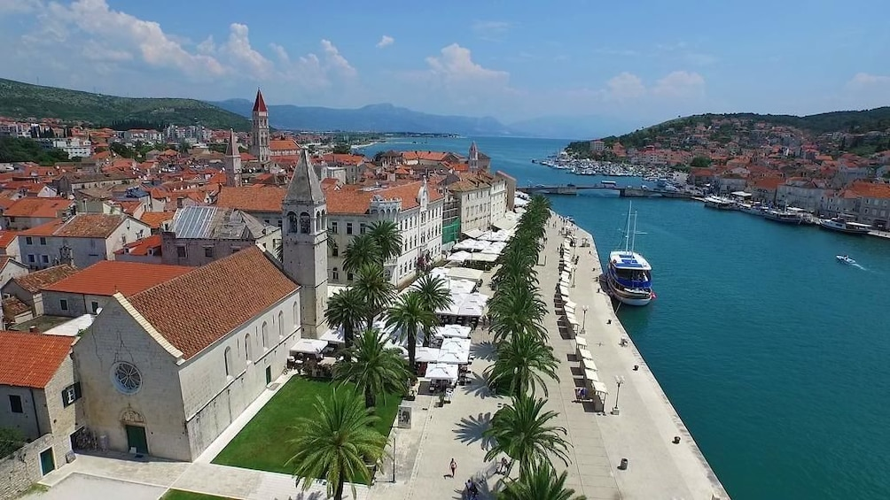 Show item 3 of 8. Krka waterfalls and guided tour of Trogir town from Split