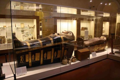 Display in The Museum of Egyptian Antiquities