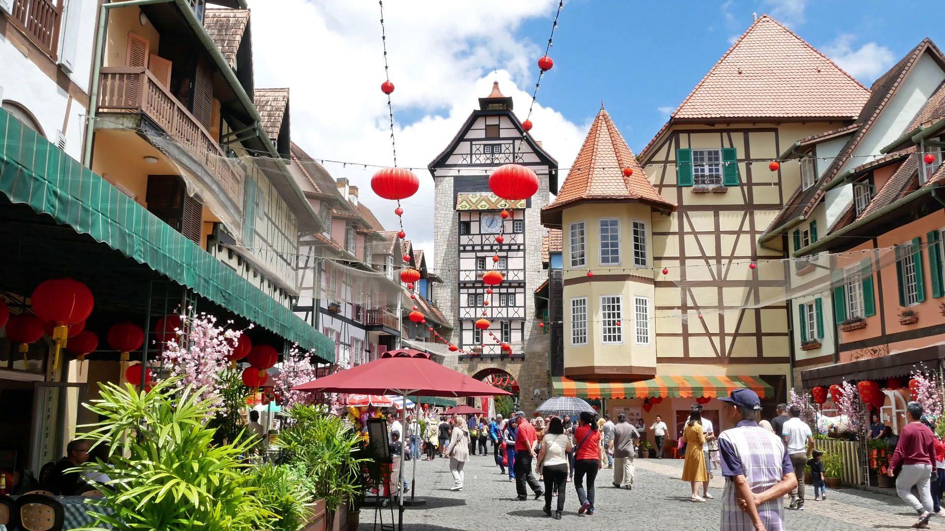 Bukit Tinggi French Village Private Tour from Kuala Lumpur
