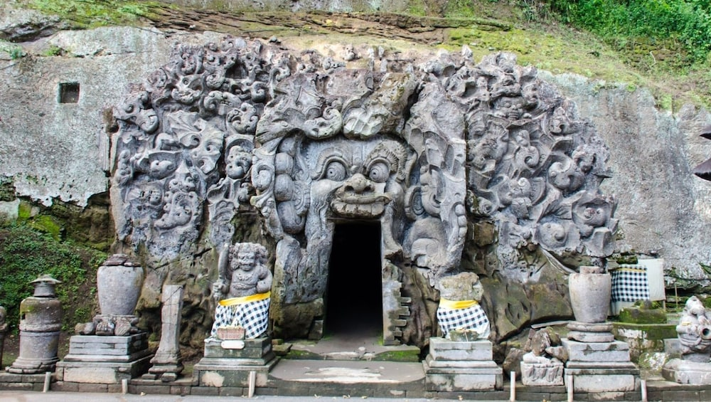 Show item 2 of 8. Elephant Cave in Bali