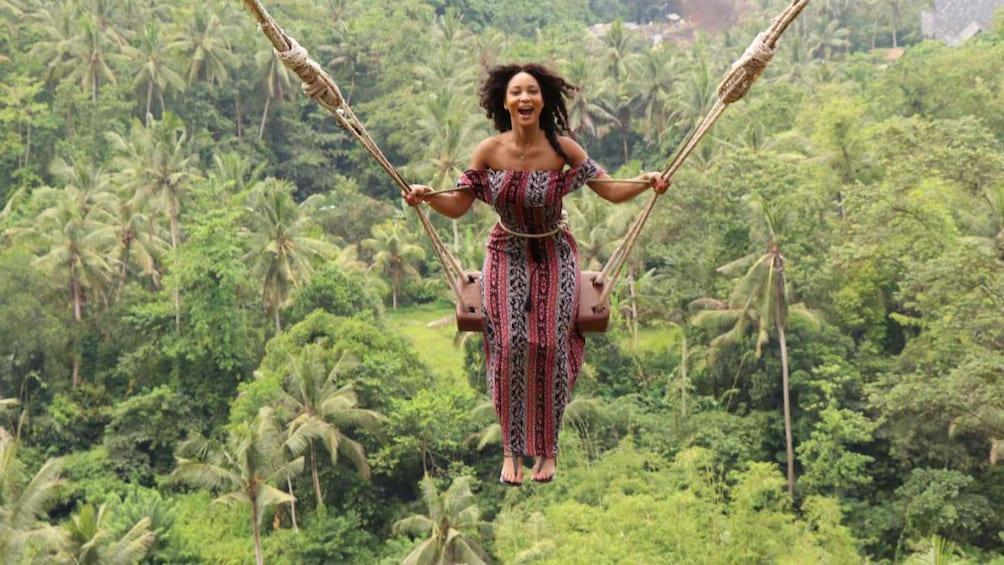Show item 4 of 9. Best Ubud Tour with Jungle Swing