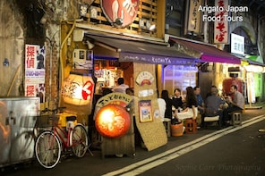 3-hour Hidden Gem Food Tour in Shimbashi with a Local Expert