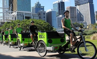 Brisbane - Pedicab Tour