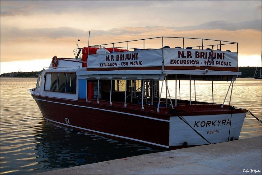 Show item 3 of 10. Brijuni National Park Boat Excursion from Pula