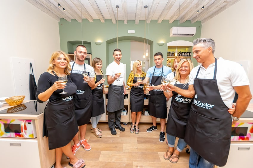 Show item 4 of 10. ZADAR COOKING CLASS
