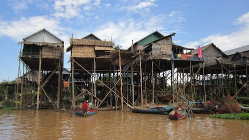 Kampong Phluk, a commune in Cambodia