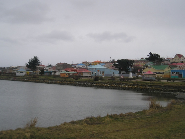 Show item 8 of 8. Porvenir, Chile on an overcast day