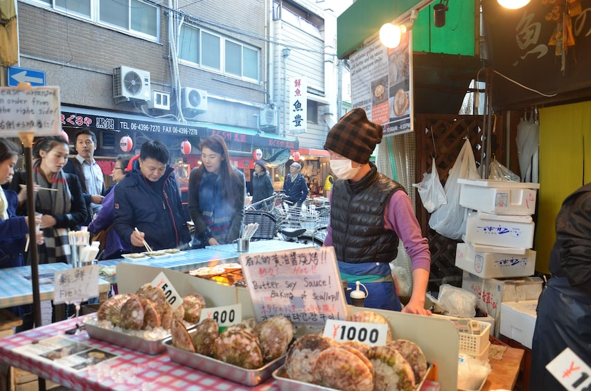 Show item 1 of 8. Osaka market