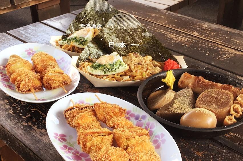 Show item 1 of 9. Bullet Train (Shinkansen) and Mt. Fuji Famous Food Tour
