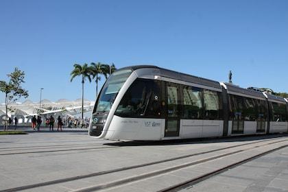 High-speed train in Rio de Janeiro