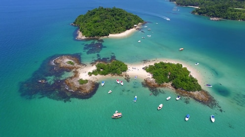 Islands in Angra dos Reis Archipelago