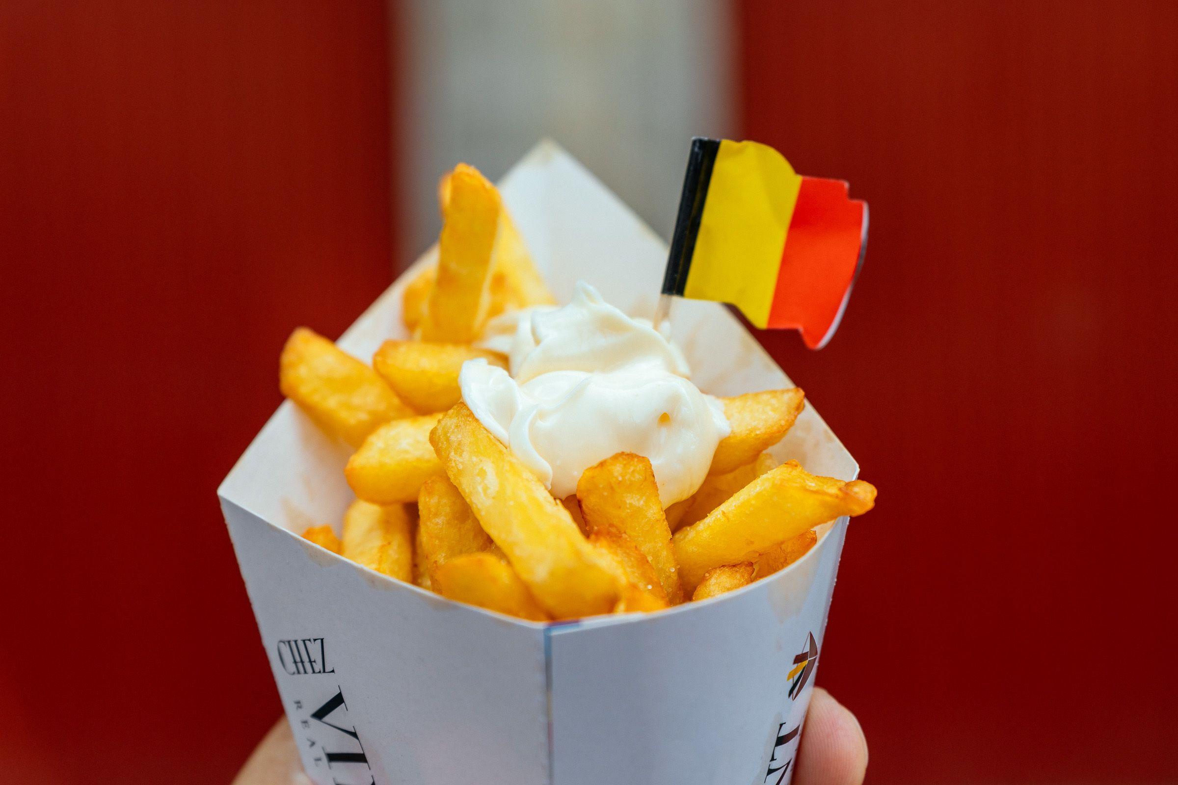 French fries in Bruges