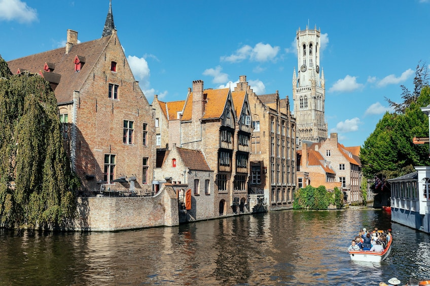 Show item 1 of 5. Canal in Bruges
