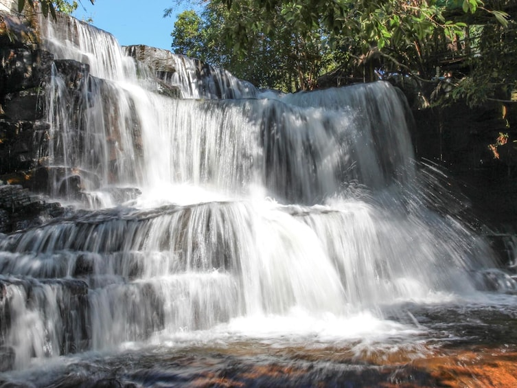 Show item 3 of 5. Waterfall in Sihanoukville