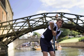 Rutherford's Traditional Shared Punting Tours in Cambridge