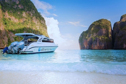 Boat on Phi Phi Islands in Thailand