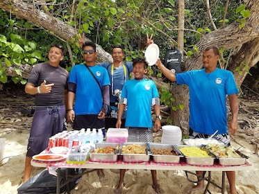 Lunch provided by tour guides on Phi Phi Island
