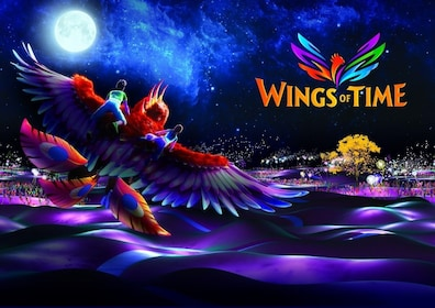 Promotional art for Wings of Time show in Singapore