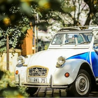 Experience the Secret of Paris in a vintage Car with a local