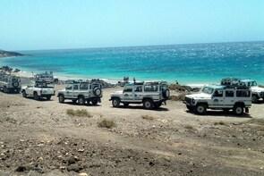 4x4 Safari Tour through Inner Fuerteventura - Cotillo beach