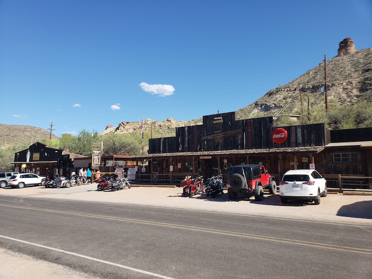 Show item 1 of 6. Apache Trail Sightseeing Tour