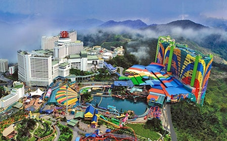 Aerial view of the Genting Highlands