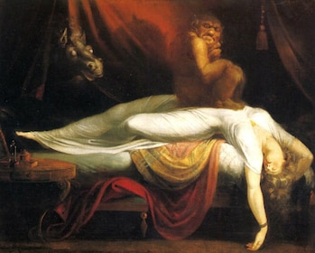 Nightmare by Henry Fuseli art reproduction